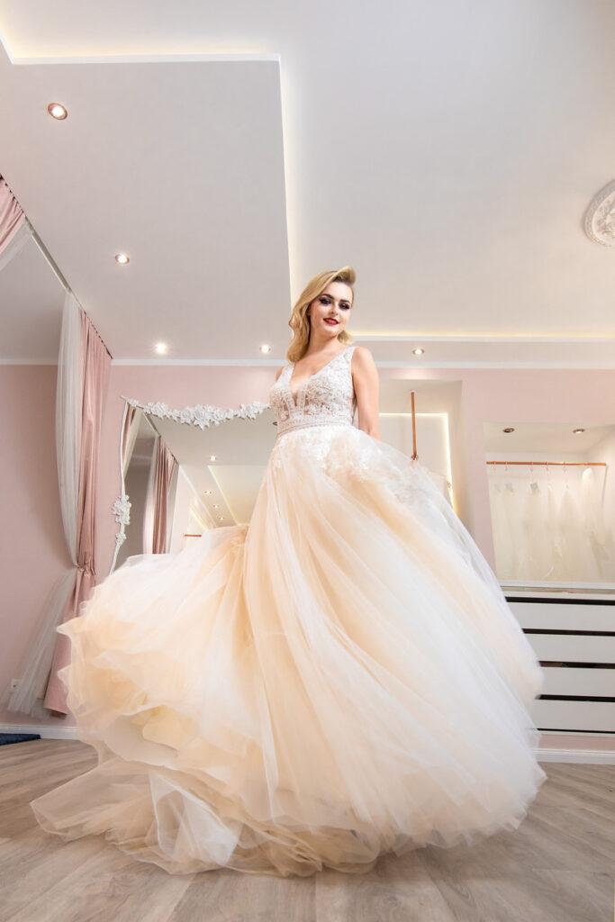Brautkleid Wiesloch schön