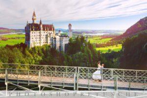 Photoshopretusche Brautpaar Heidelberg Fotograf